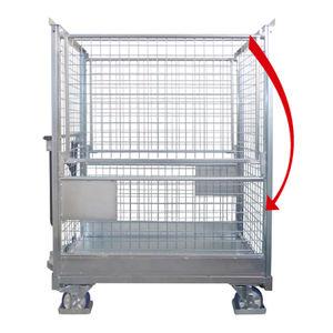 container in rete metallica