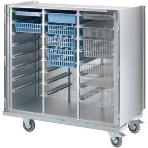 armadio da officina / con rotelle / in metallo / bloccabile