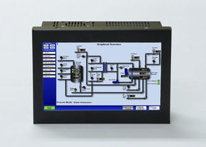 panel PC di LCD / touch screen / 7