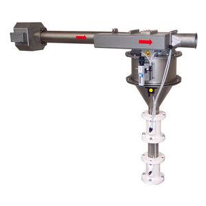 separatore pneumatico / di particelle / di metalli / per prodotto sfuso