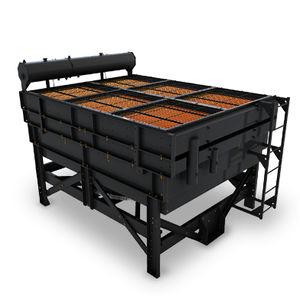 scambiatore di calore a piastre e alette