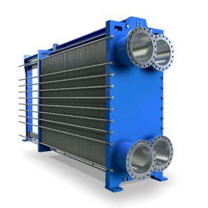 scambiatore di calore a piastre e guarnizioni / liquido/liquido / liquido/gas / gas/gas