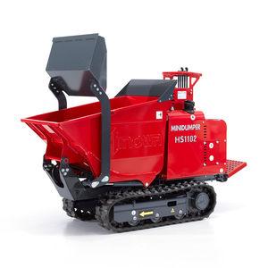 mini dumper cingolato / diesel / a scarico frontale / con benna elevatrice