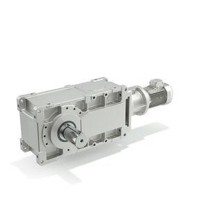 riduttore a coppia conica / a ingranaggi elicoidali / ad assi ortogonali / > 10 kNm