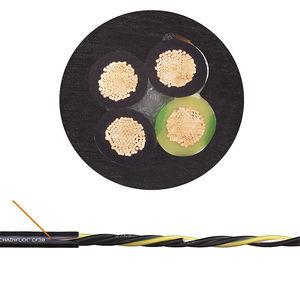 cavo elettrico di alimentazione / antifiamma / resistente all'olio / blindato