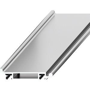 rotaia doppia / di guide lineari / in alluminio / a rulli