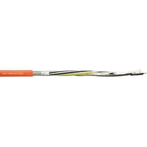 cavo elettrico di alimentazione / antifiamma / a spirale / con guaina in PVC