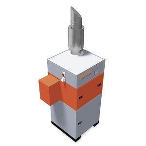 sistema centralizzato di aspirazione e di filtrazione di fumo trasportabile / di saldatura / a filtri autopulenti