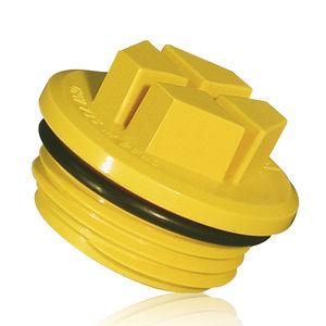 tappo O-ring / filettato / in plastica / di tenuta