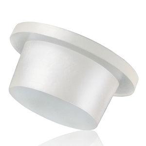 tappo conico / non filettato / in polietilene a bassa densità LDPE / con flangia