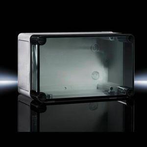 scatola in plastica rinforzata con fibre / di piccole dimensioni / rettangolare / in policarbonato