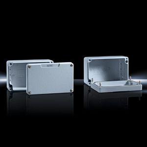 scatola in ghisa di alluminio / di piccole dimensioni / rettangolare / in alluminio laccato