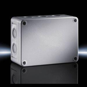 scatola con stampaggio metrico-decimale / di piccole dimensioni / rettangolare / in policarbonato