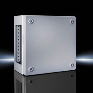 scatola di piccole dimensioni / rettangolare / in lamiera d'acciaio / in acciaio laccato