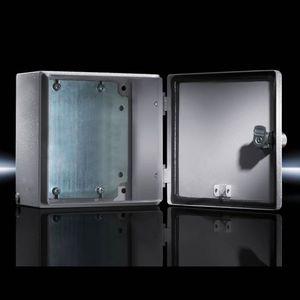 scatola a parete / rettangolare / in lamiera d'acciaio / con sportello