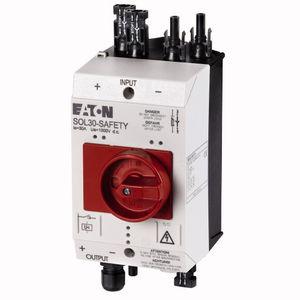 interruttore-sezionatore a bassa tensione / DC / di sicurezza / per applicazioni fotovoltaiche