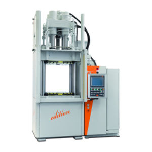 pressa ad iniezione verticale / idraulica / per gomma / multimateriale