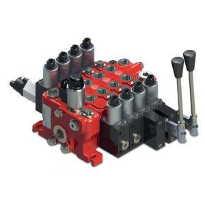 distributore idraulico a cassetto / a leva / sezionale / modulare