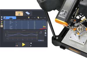 software di supervisione / di comando di processo / apparecchio di ispezione di misura / automatizzato