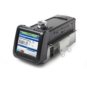 macchina di marcatura a getto di inchiostro continuo / da integrare / a grandi caratteri