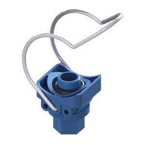 collare di fissaggio per tubo in acciaio inossidabile / in polipropilene