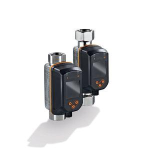 misuratore di portata a vortice / per acqua / con indicatore / con sensore di temperatura