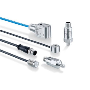 accelerometro per monitoraggio condizioni della macchina / 1 asse / piezoelettrico / capacitivo