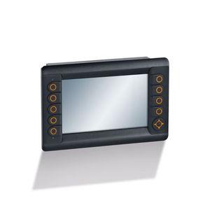 HMI di monitoraggio / con touch screen / con tastiera / ad incastro