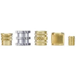 inserto filettato / autofilettante / a pressione / in metallo