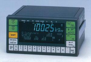 indicatore di peso con display LED / ad incastro / robusto