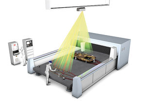 proiettore laser digitale / di posizionamento / di profilo