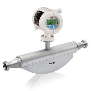 misuratore di portata massico / ad effetto Coriolis / per liquidi / compatto