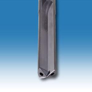 punta integrale / multiuso / in carburo / con fluido di raffreddamento interno