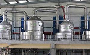 evaporatore a piastre / a film / di processo / per liquidi