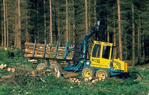 caricatore forestale