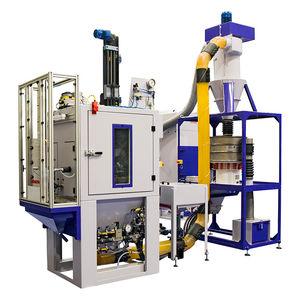 granigliatrice per applicazioni aeronautiche / per applicazioni mediche / automatica / compatta