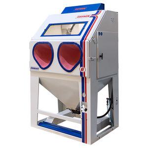 cabina di sabbiatura a pressione