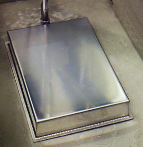 trasduttore ad ultrasuoni a piastre