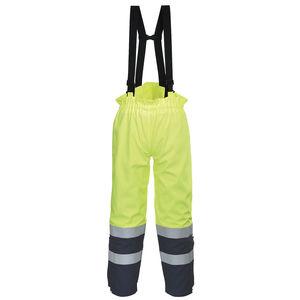 44-110 tute da lavoro patta Pantaloni Pantaloni di lavoro shield Cargo-patta Pantaloni BICOLORE blu