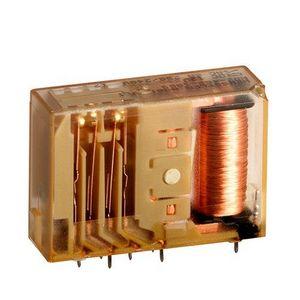 relè elettromeccanico DC / monostabile / con contatti guidati / bistabile