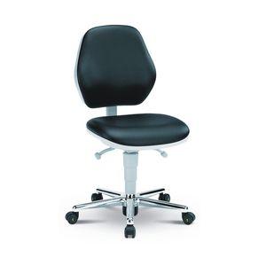 sedia girevole per camera bianca / ergonomica