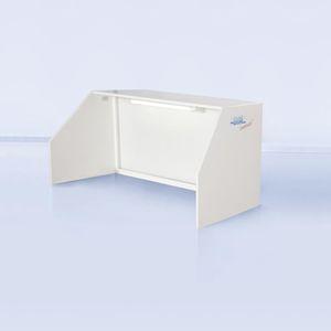 banco da lavoro in plastica / per camera bianca / compatto