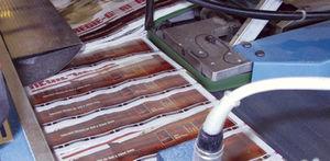cinghia piatta / in poliuretano / ad uso industriale / macchina