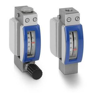 misuratore di portata a sezione variabile / per gas / con tubo di metallo / in linea