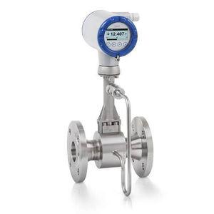 misuratore di portata a vortice / per liquidi / per acqua / per prodotti chimici