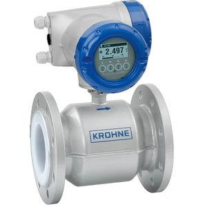 misuratore di portata elettromagnetico / per acqua / per prodotti chimici / per fango