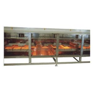 forno di cottura / a nastro trasportatore / a infrarossi / per l'industria agroalimentare