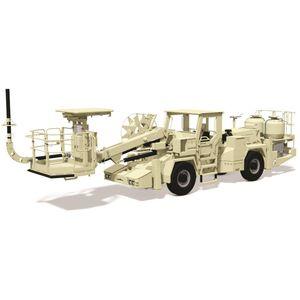 veicolo di trasporto e di carico esplosivi (ANFO)