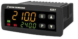 controllore di temperatura con doppio display a LED / programmabile / configurabile