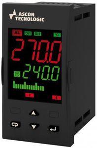 regolatore di temperatura con doppio display a LED / programmabile / configurabile / RS-485